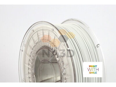 PET-G filament white 1,75 mm Print With Smile 1kg