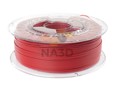 PLA filament MAT Bloody Red 1,75 mm Spectrum 1 kg