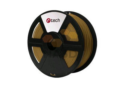C-TECH PLA BROWN 1,75 mm 1 kg (C-TECH PLA BROWN 1,75 mm 1 kg)