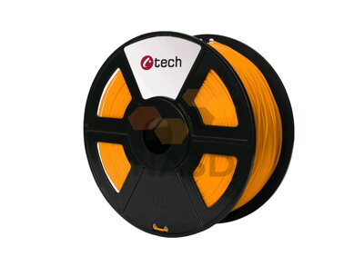C-TECH PLA ORANGE 1,75 mm 1 kg (C-TECH PLA ORANŽOVÁ 1,75 mm 1 kg)