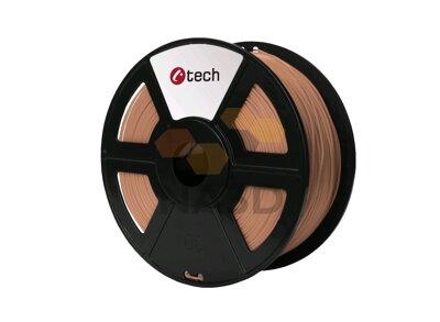 C-TECH PLA COPPER 1,75 mm 1 kg (C-TECH PLA MEDENÁ 1,75 mm 1 kg)